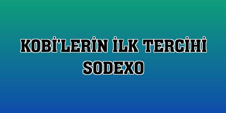 KOBİ'lerin ilk tercihi Sodexo