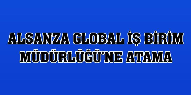 Alsanza Global İş Birim Müdürlüğü'ne atama