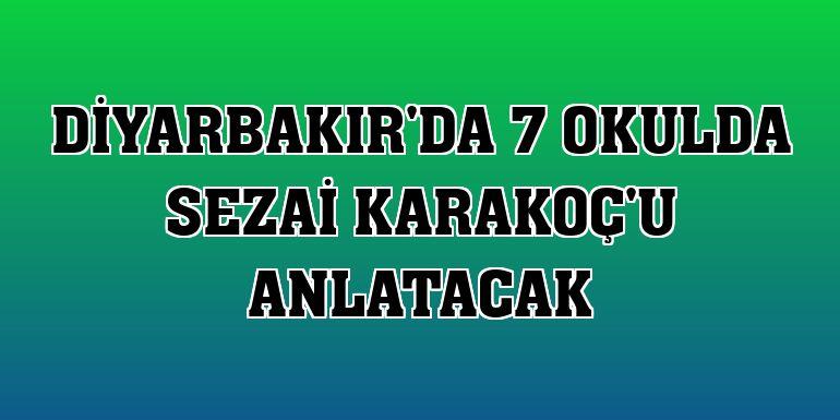 Diyarbakır'da 7 okulda Sezai Karakoç'u anlatacak