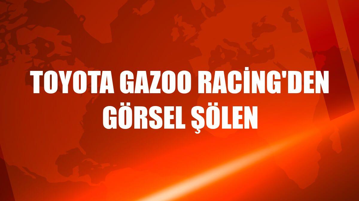 Toyota Gazoo Racing'den görsel şölen