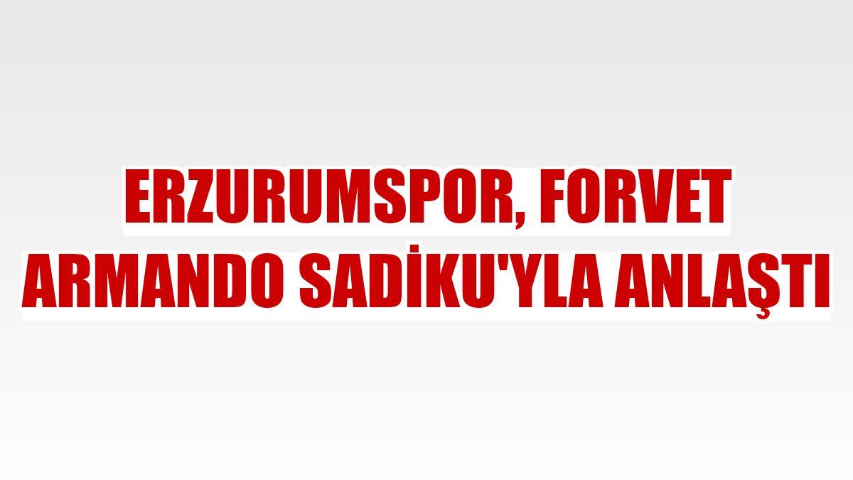Erzurumspor, forvet Armando Sadiku'yla anlaştı