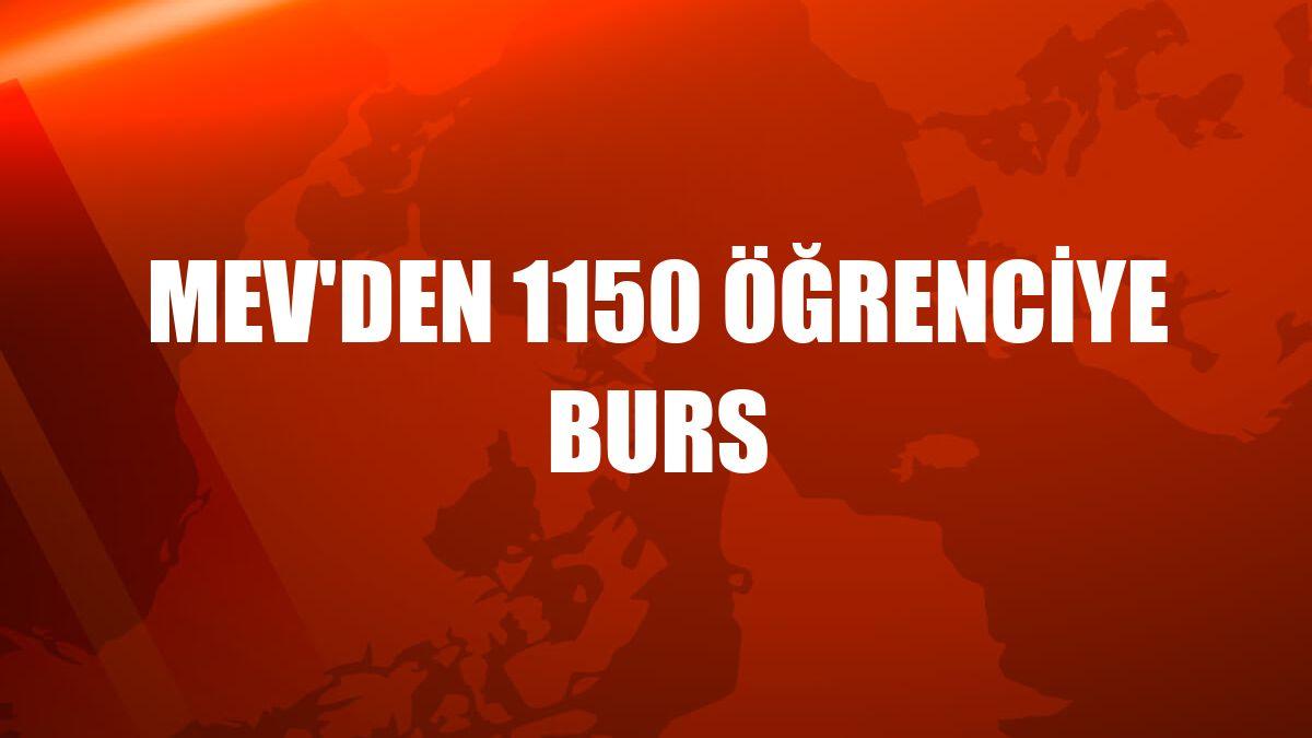 MEV'den 1150 öğrenciye burs