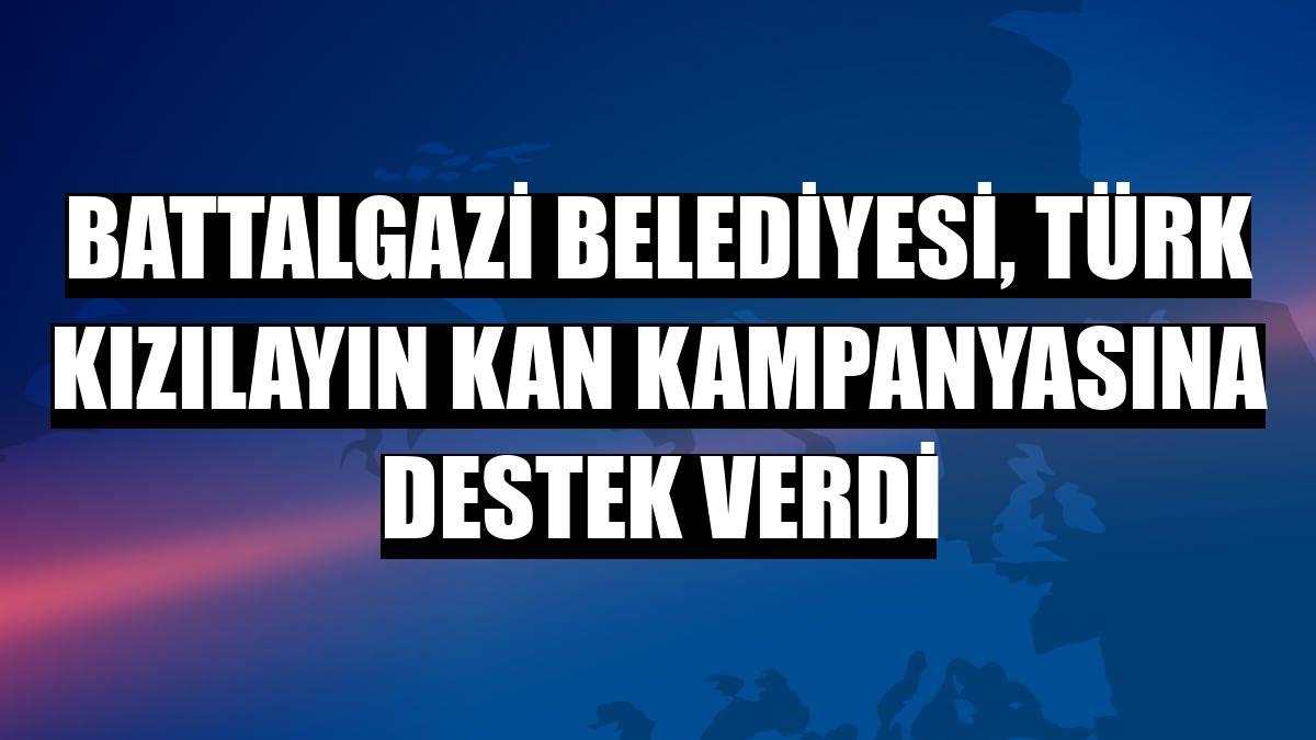 Battalgazi Belediyesi, Türk Kızılayın kan kampanyasına destek verdi