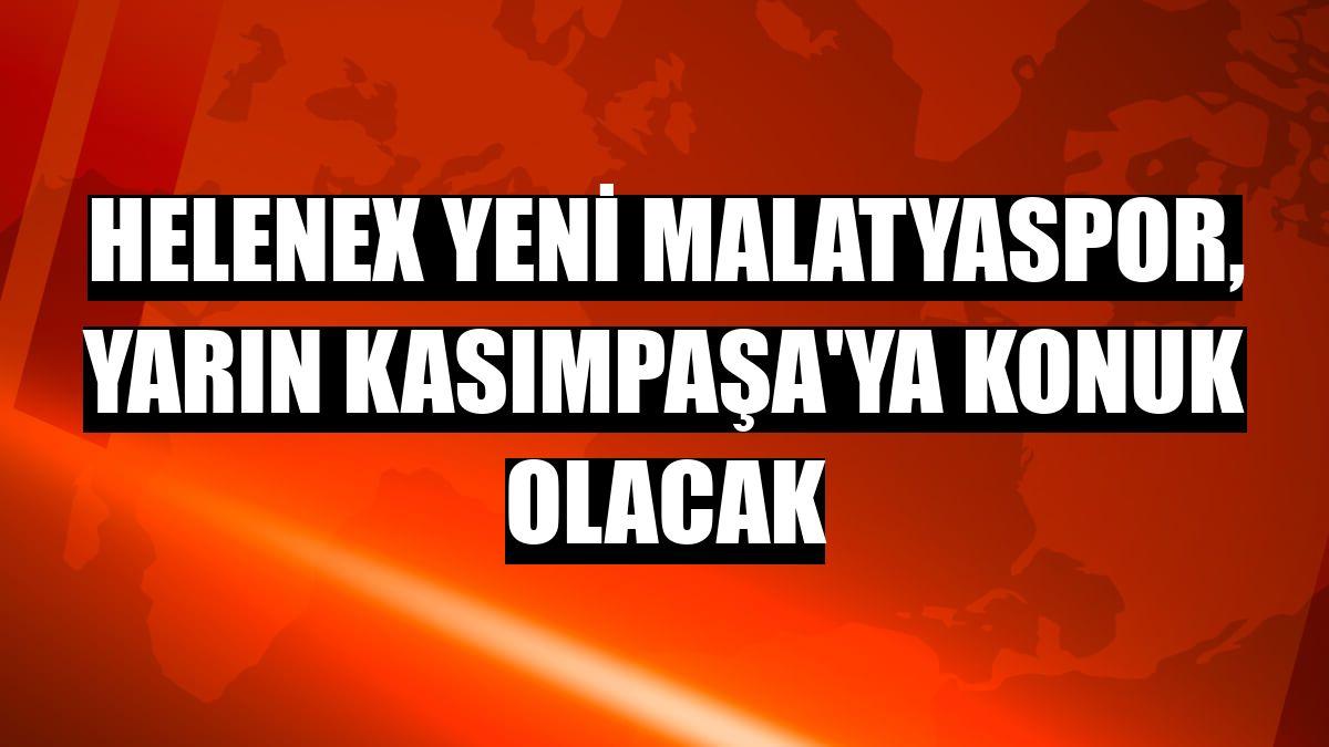 Helenex Yeni Malatyaspor, yarın Kasımpaşa'ya konuk olacak