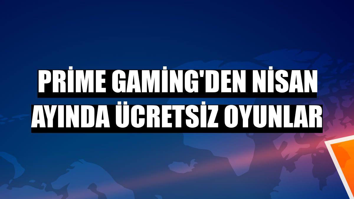 Prime Gaming'den nisan ayında ücretsiz oyunlar