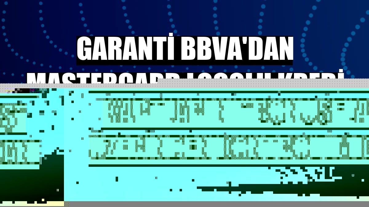 """Garanti BBVA'dan Mastercard logolu kredi kartlarını """"BonusFlaş"""" üzerinden kontrol imkanı"""