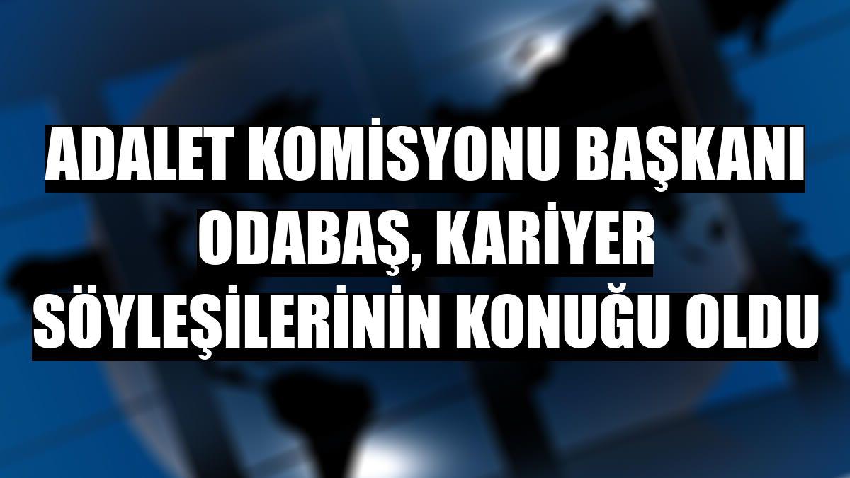 Adalet Komisyonu Başkanı Odabaş, kariyer söyleşilerinin konuğu oldu - Erzincan Haberleri