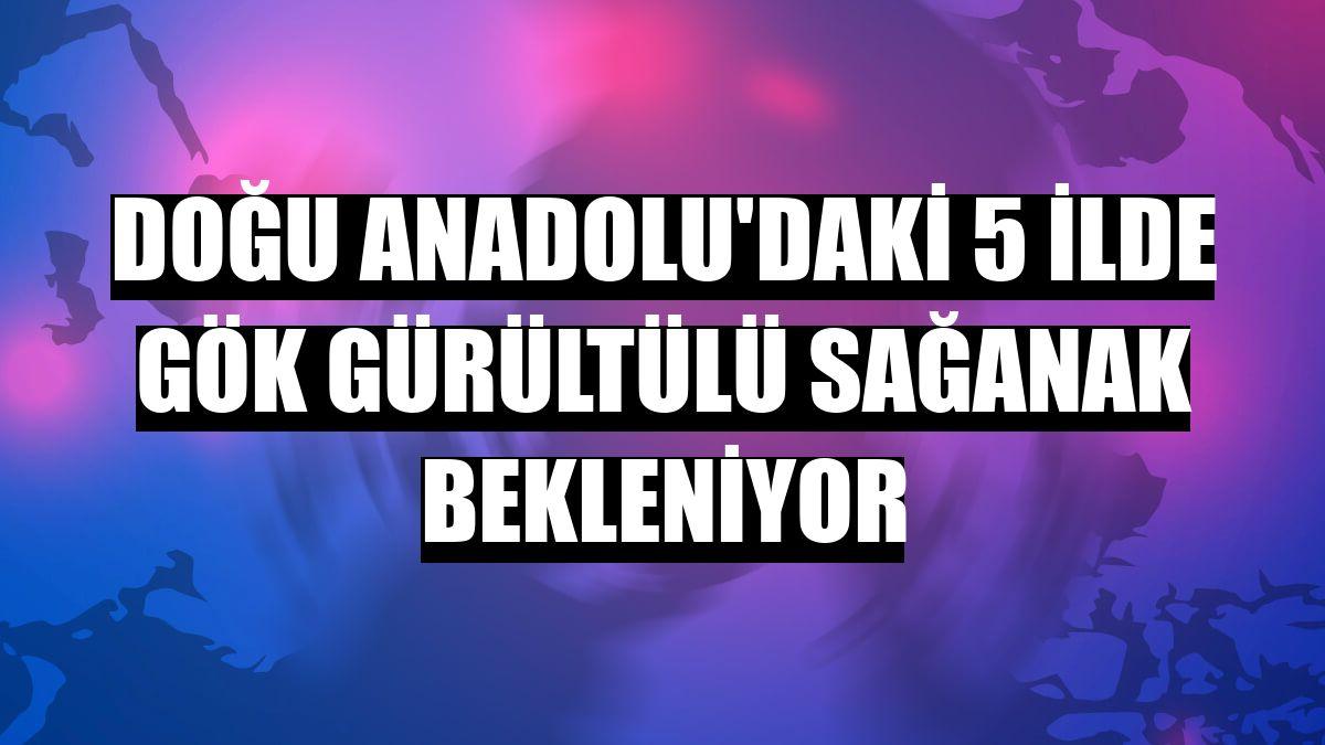 Doğu Anadolu'daki 5 ilde gök gürültülü sağanak bekleniyor - Erzurum Haberleri