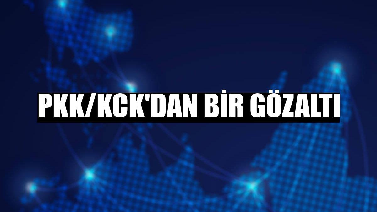 PKK/KCK'dan bir gözaltı