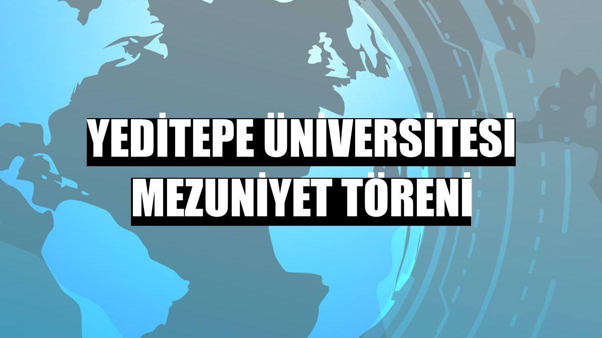 Yeditepe Üniversitesi mezuniyet töreni