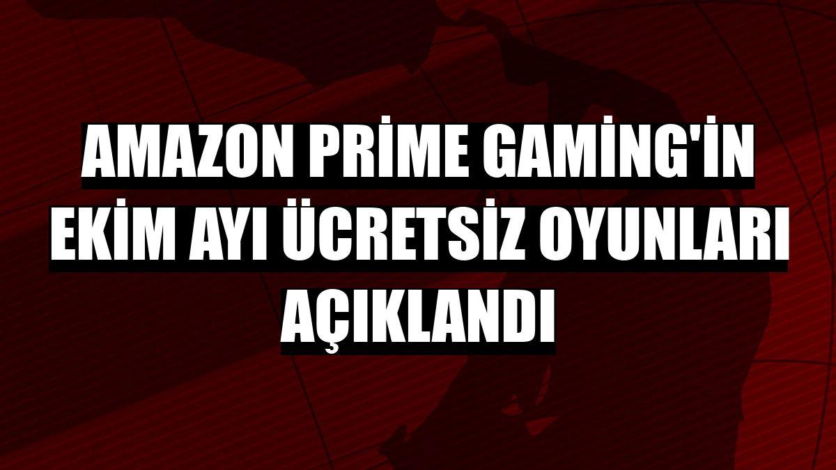 Amazon Prime Gaming'in ekim ayı ücretsiz oyunları açıklandı