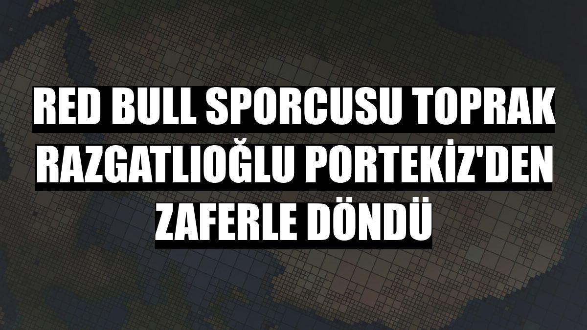 Red Bull sporcusu Toprak Razgatlıoğlu Portekiz'den zaferle döndü