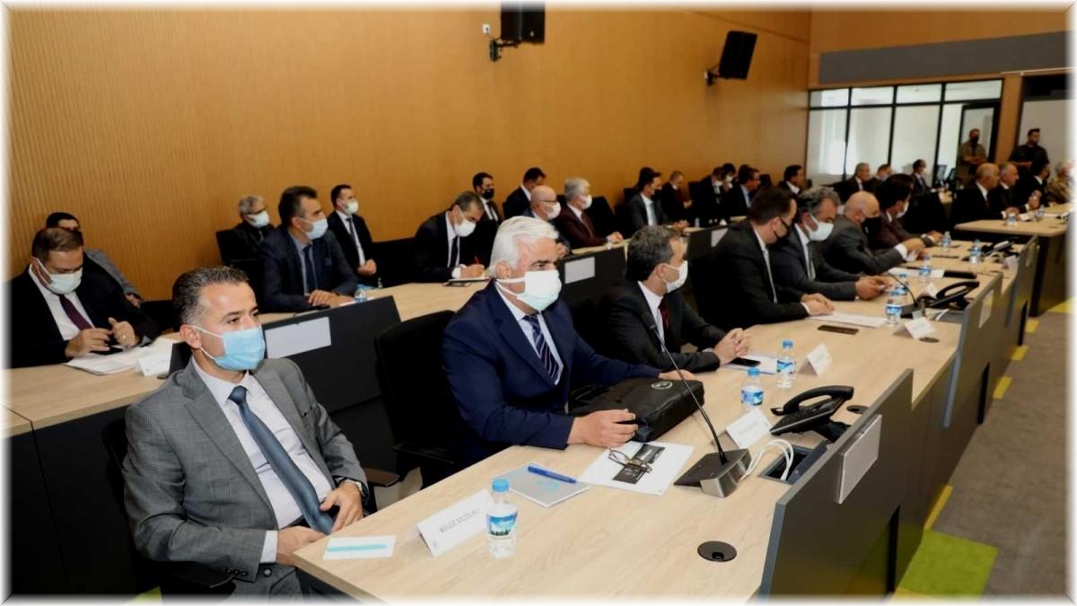 2021 yılı 4'ncü İl Koordinasyon Kurulu toplantısı yapıldı