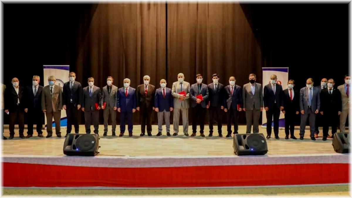 Ağrı'da 'Cami, Din Görevlileri ve Vefa' temalı konferans