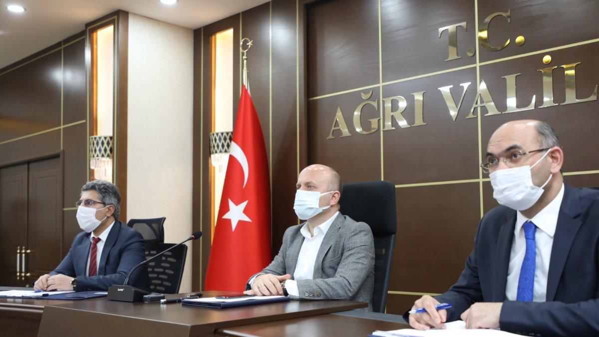 Ağrı'da İl Toprak Koruma Kurulu Toplantısı