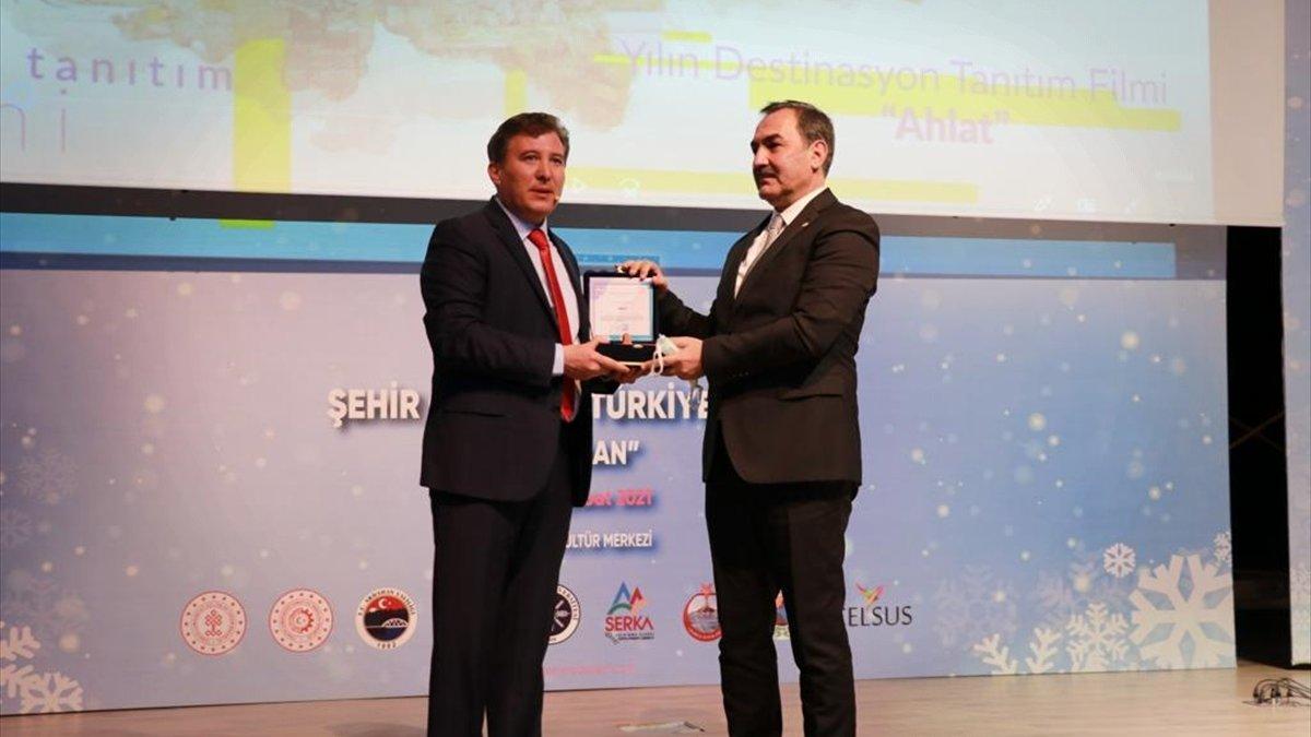 Ahlat, Şehir Ödülleri Türkiye Proje Yarışması'nda 2 ödüle layık görüldü