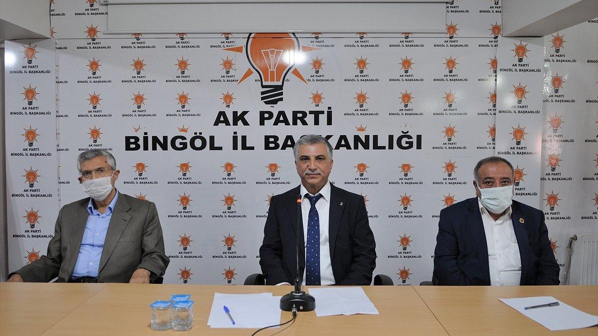 AK Parti Bingöl İl Başkanlığına atanan Sağlar, göreve başladı