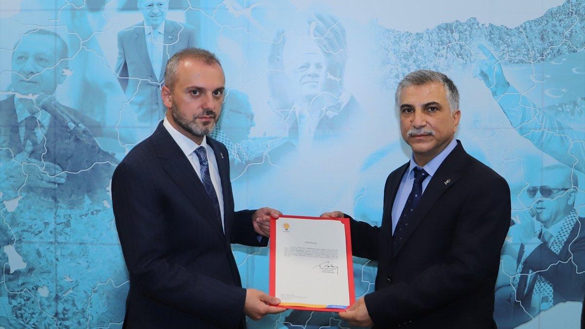 AK Parti Bingöl İl Başkanlığına Haşim Sağlar atandı