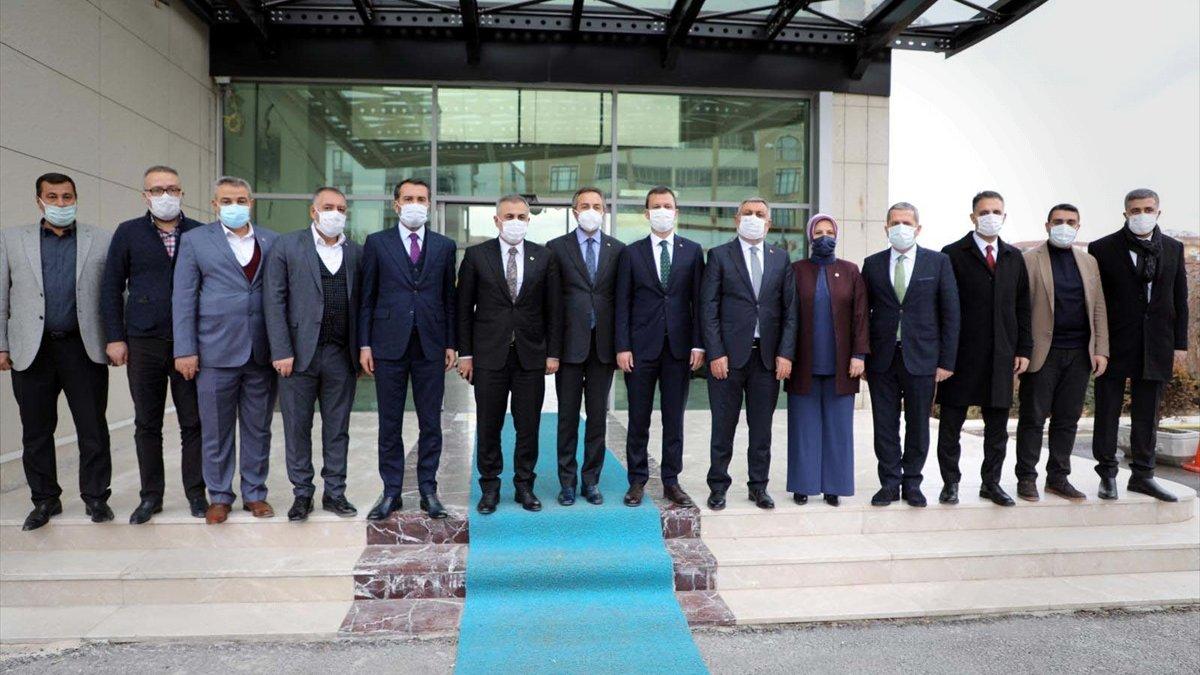 AK Parti Genel Sekreteri Fatih Şahin, Elazığ'da temaslarda bulundu