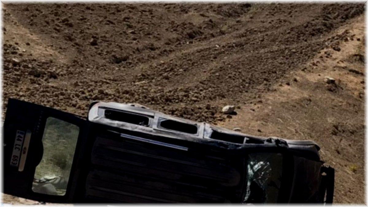 Arapgir'de meydana gelen trafik kazasında 1'i ağır 5 kişi yaralandı