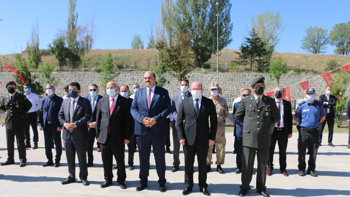 Atatürk'ün Erzurum'a gelişi Ilıca'da kutlandı