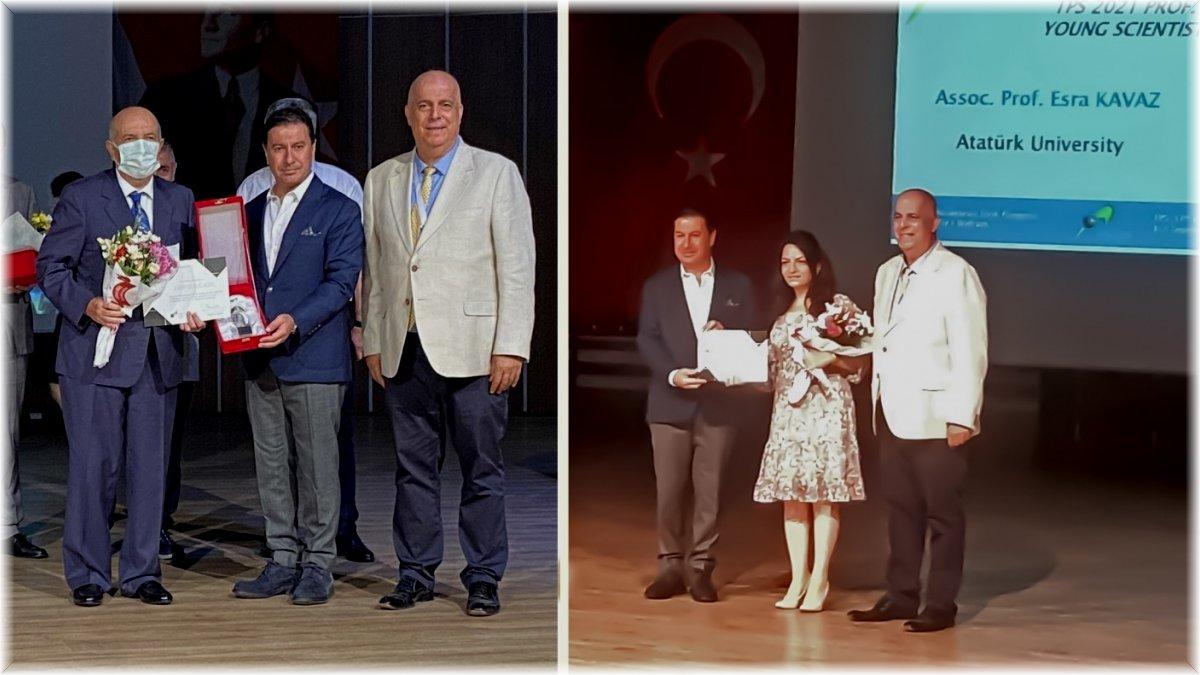 Atatürk Üniversitesi'nin fizik alanındaki başarıları ödüllendirildi