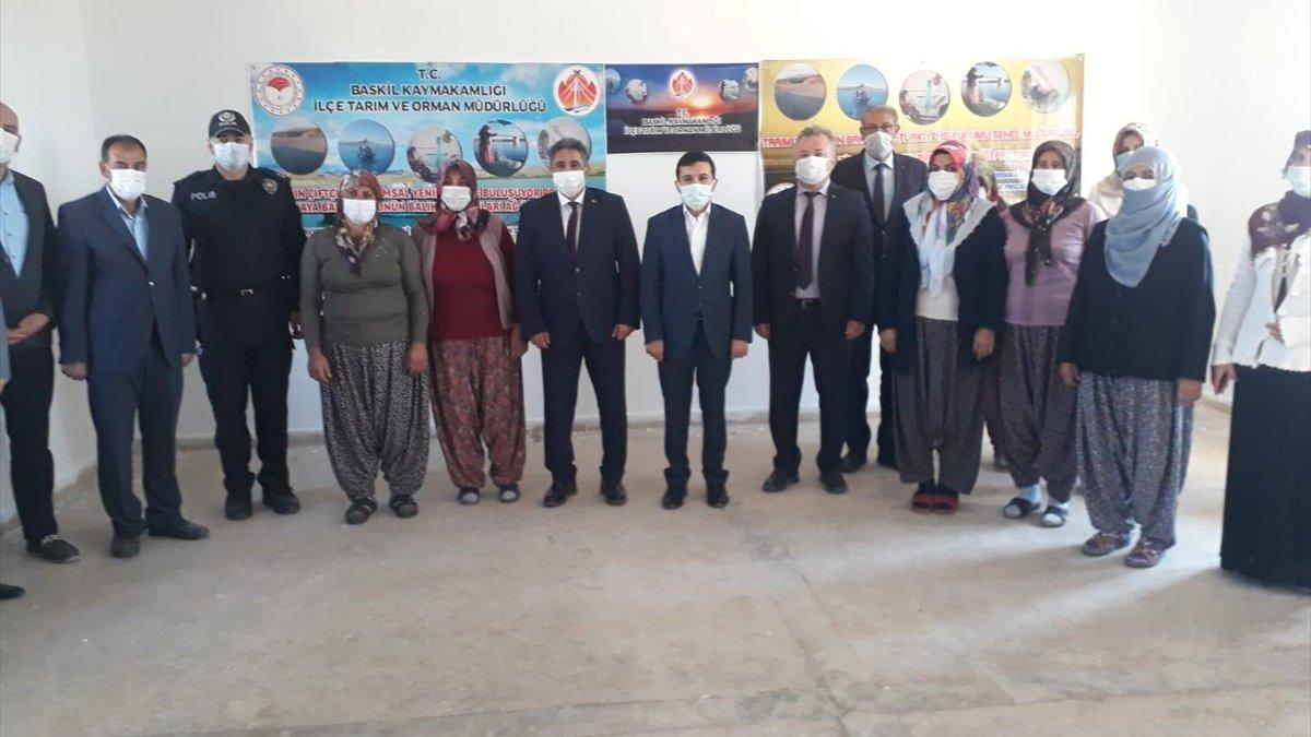 Balıkçı Kadınlar Ağ Projesi'nin açılışı yapıldı