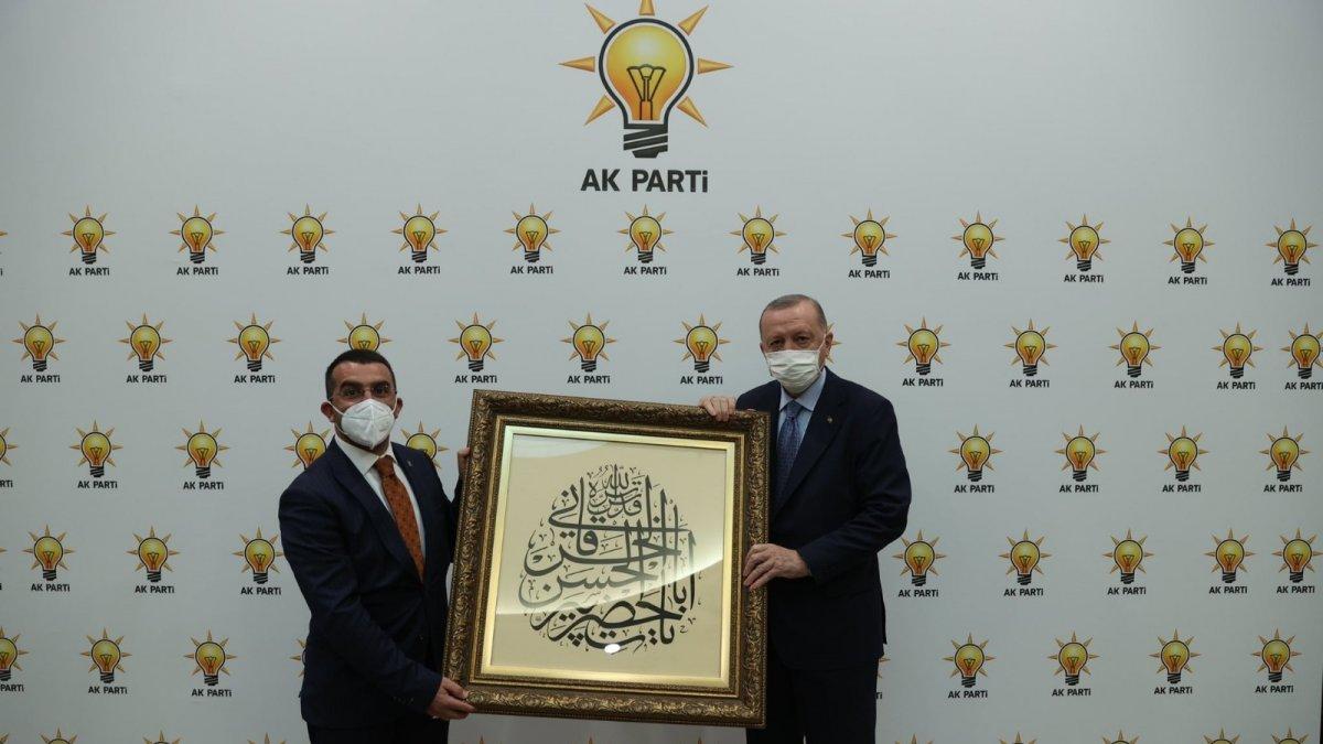 Başkan Çalkın, Cumhurbaşkanı Erdoğan ile görüştü
