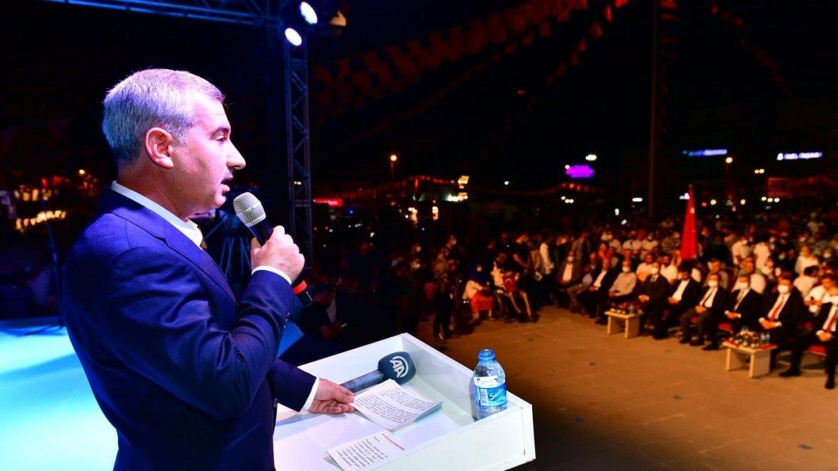 Başkan Çınar, 15 Temmuz programında konuştu
