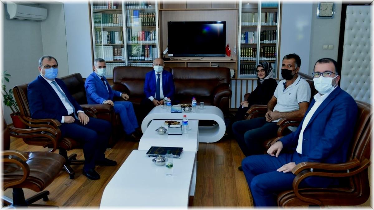 Başkan Çınar'dan müftülere ziyaret