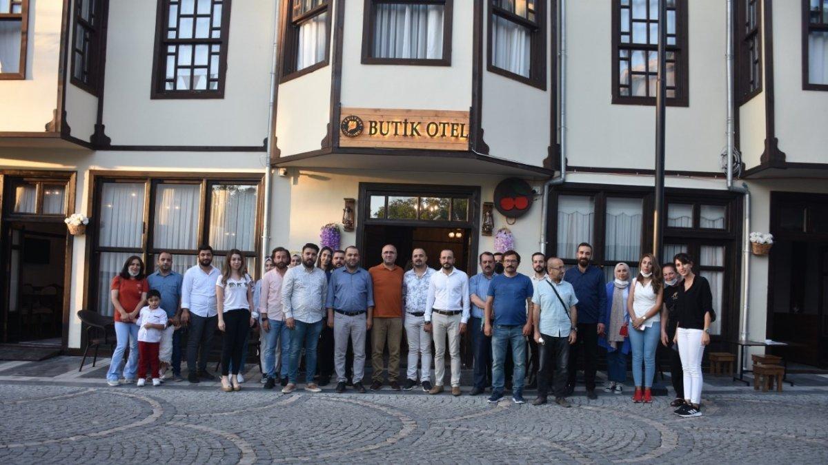 Başkan Çınar, mimarları ağırladı