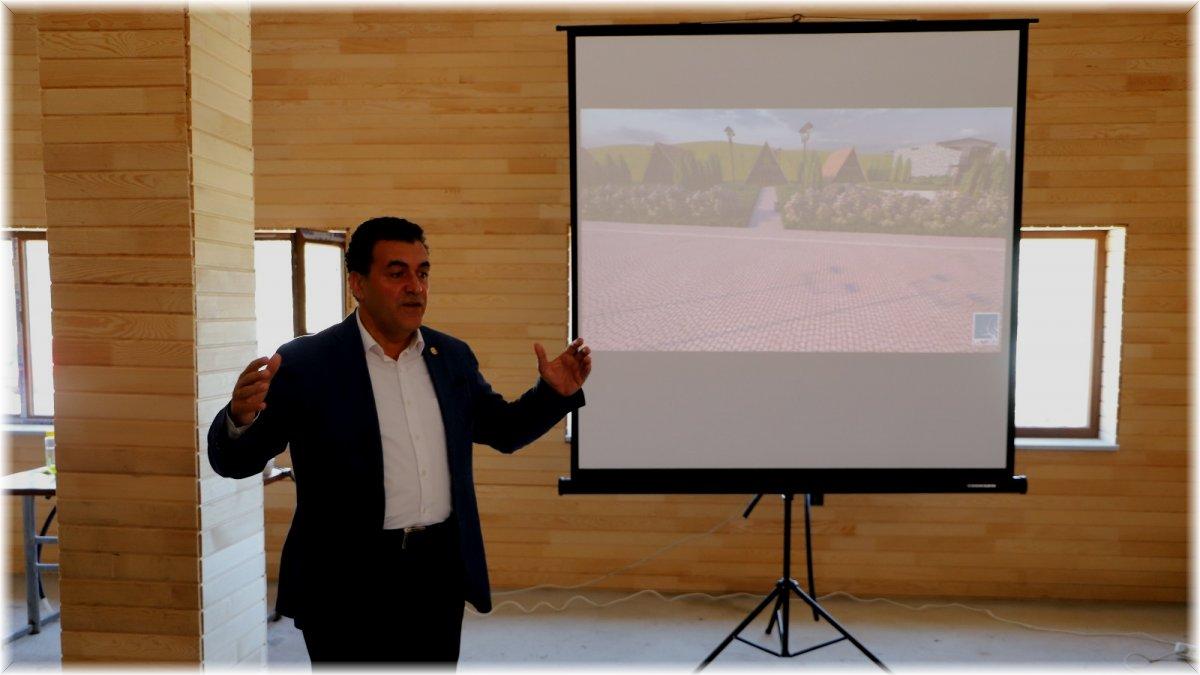 Başkan Demir'den turizm yatırımı: Bungalov evler projesi