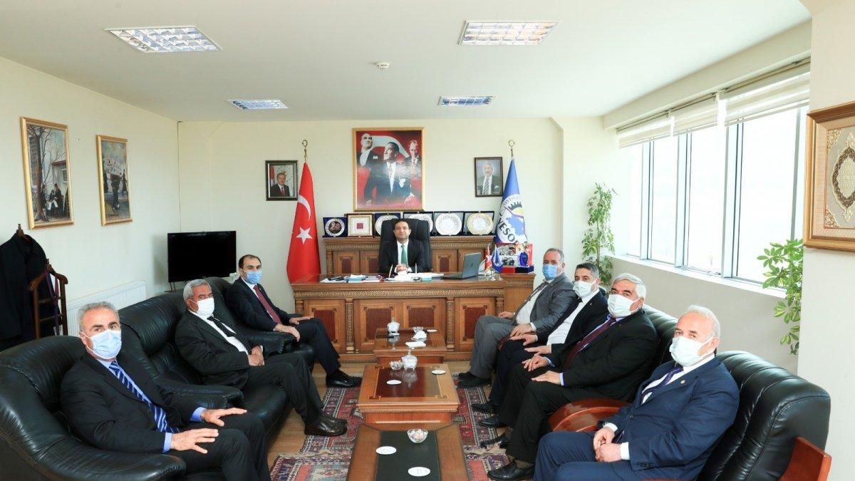 Başkan Vekili Aslan: 'Metrekare başına 1 TL alıyoruz'