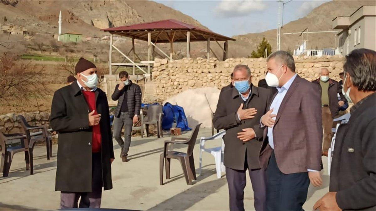 Baskil Belediye Başkanı İhsan Akmurat'tan köy ziyareti