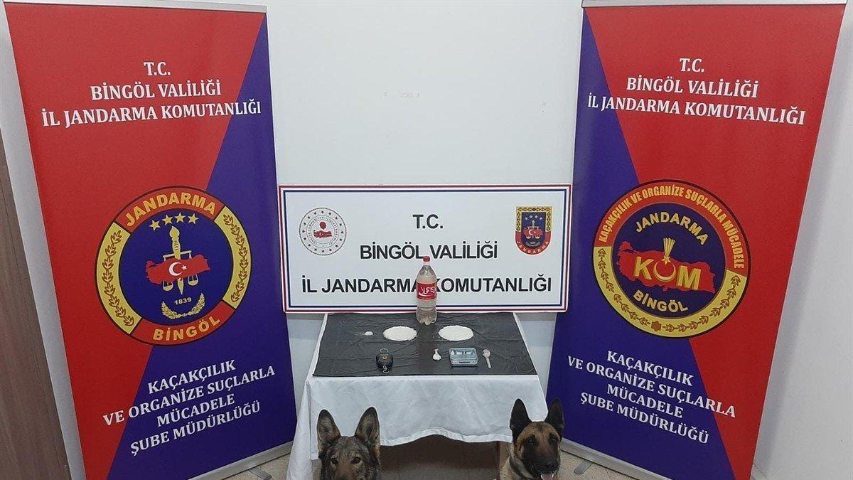 Bingöl'de uyuşturucu operasyonu: 2 şüpheli tutuklandı