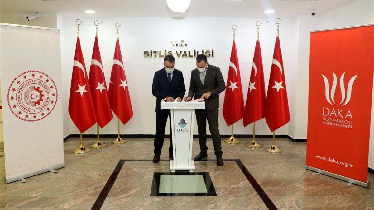 Bitlis OSB'de atık su arıtma tesisi için fizibilite süreci başlıyor