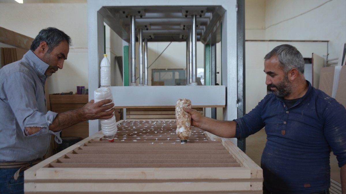 Bitlis'te üretilen kapılar komşu ülkelere ihraç ediliyor