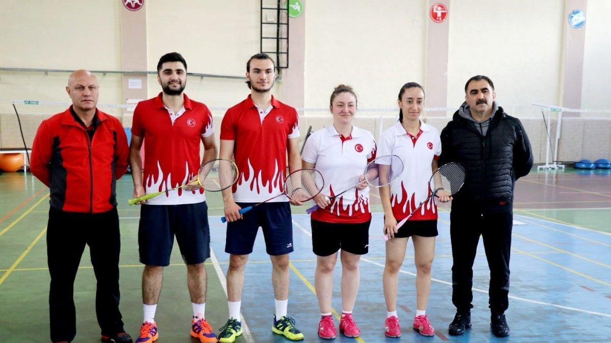 Büyükler Avrupa Badminton Şampiyonasında Türkiye'yi 8 sporcu temsil edecek