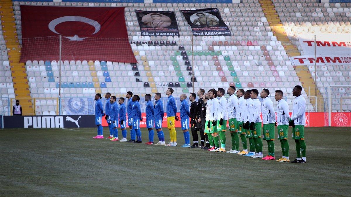 Büyükşehir Belediye Erzurumspor ile Aytemiz Alanyaspor Maç Özeti