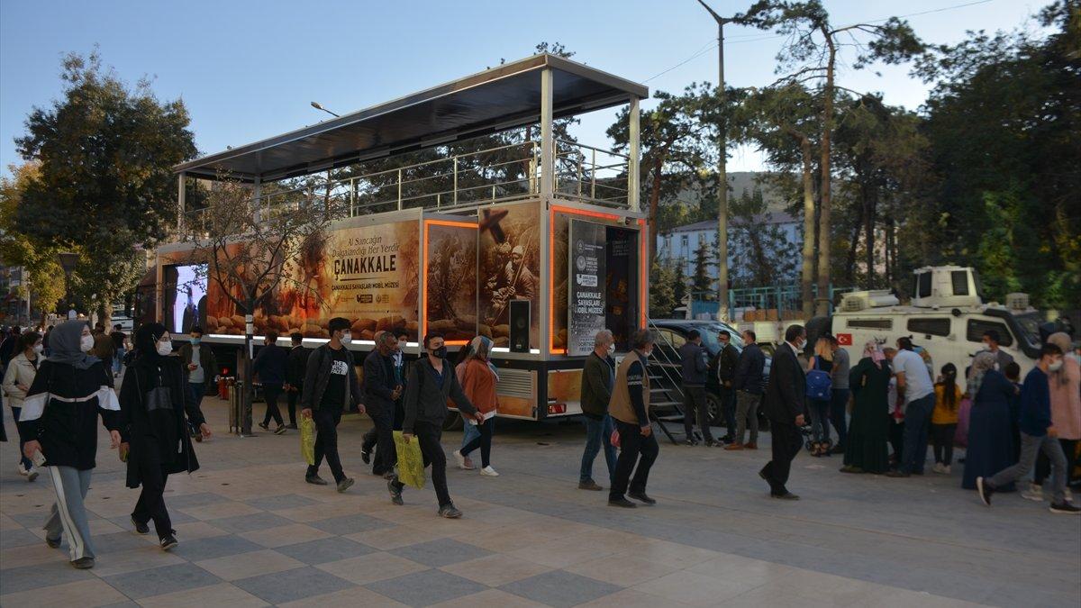 Çanakkale Savaşları Mobil Müzesi Tatvanlılarla buluştu