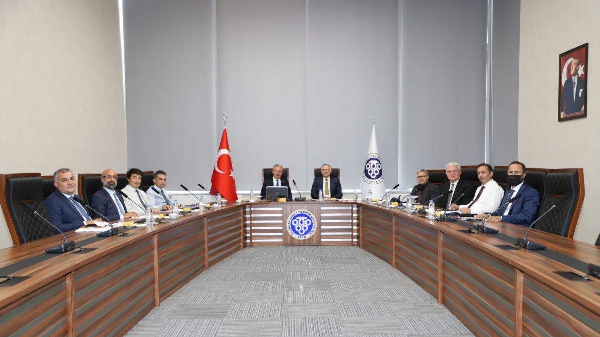 EBYÜ'de Anadolu Üniversiteleri Birliği toplantısı