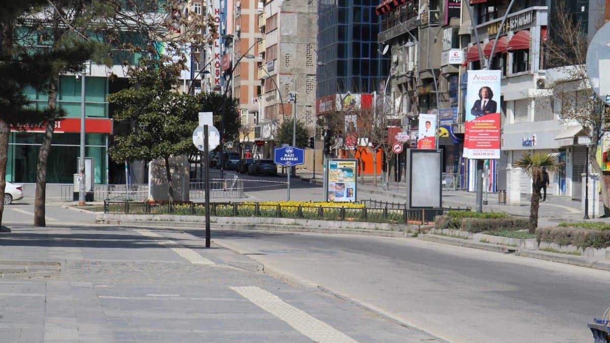Elazığ'da kısıtlama sessizliği