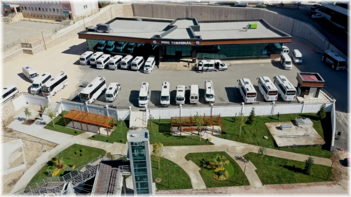 Elazığ'da mini terminal binası tamamlandı