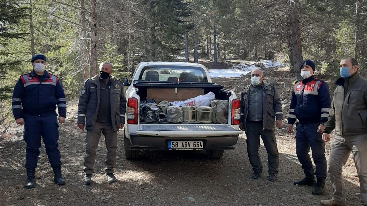Elazığ'da tuzak malzemesiyle keklik avlamaya giden 3 kişi yakalandı