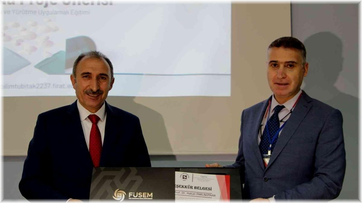 Elazığ Fırat Üniversitesinde 'TUBİTAK 2237' destekleme programı