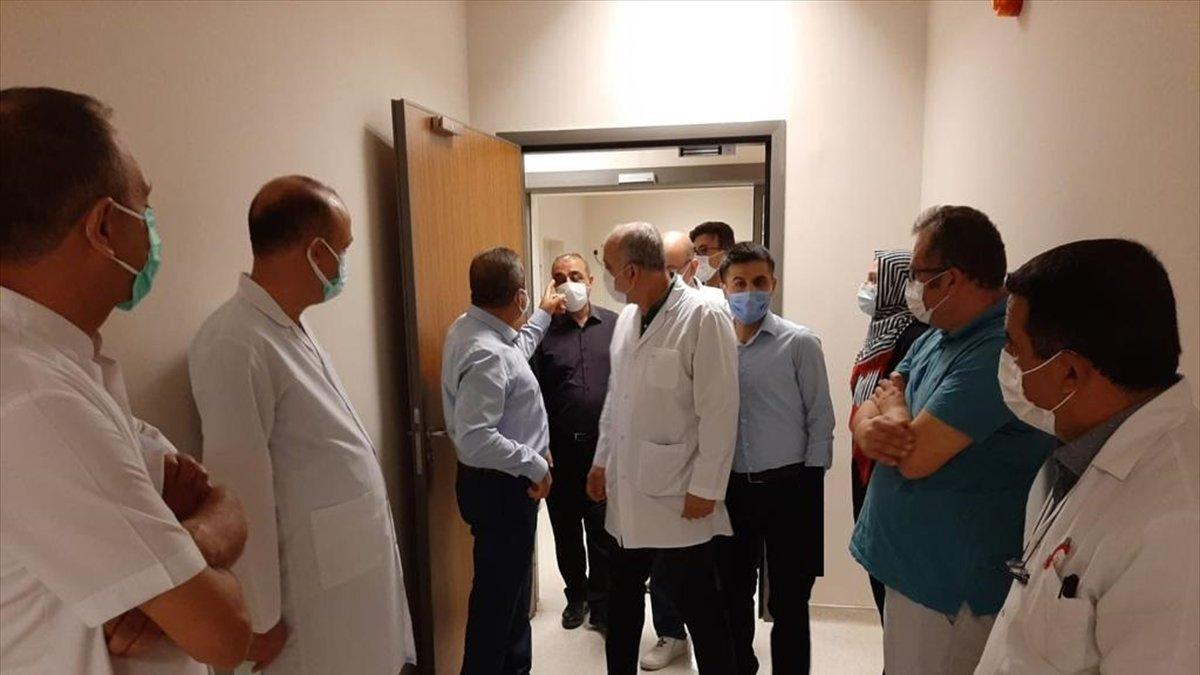 Elazığ Şehit Fethi Sekin Şehir Hastanesi'nde Kovid-19 tanı laboratuvarı açıldı