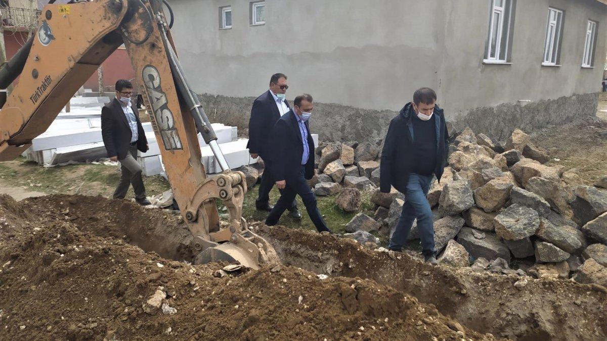 Erciş'te 20 yıllık içme suyu sorunu tarihe karıştı