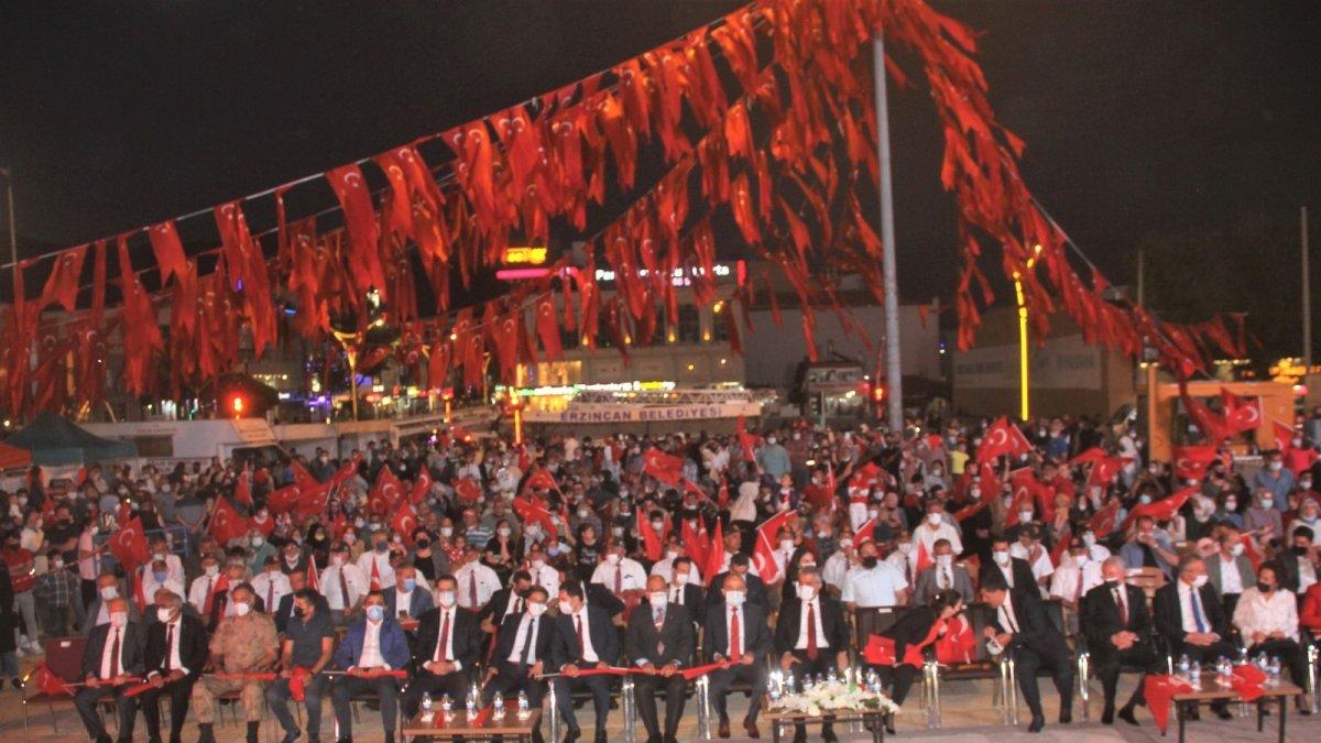 Erzincan 15 Temmuz'da tek yürek oldu - Erzincan Haberleri