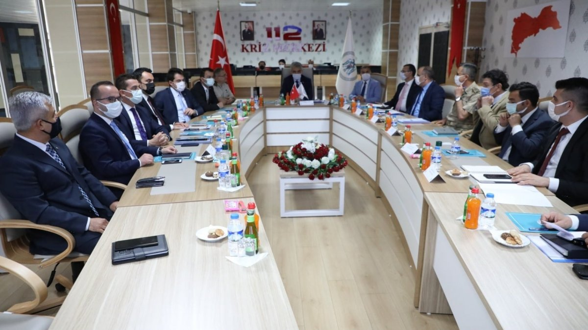 Erzincan'da asayiş ve kaymakamlar toplantısı yapıldı