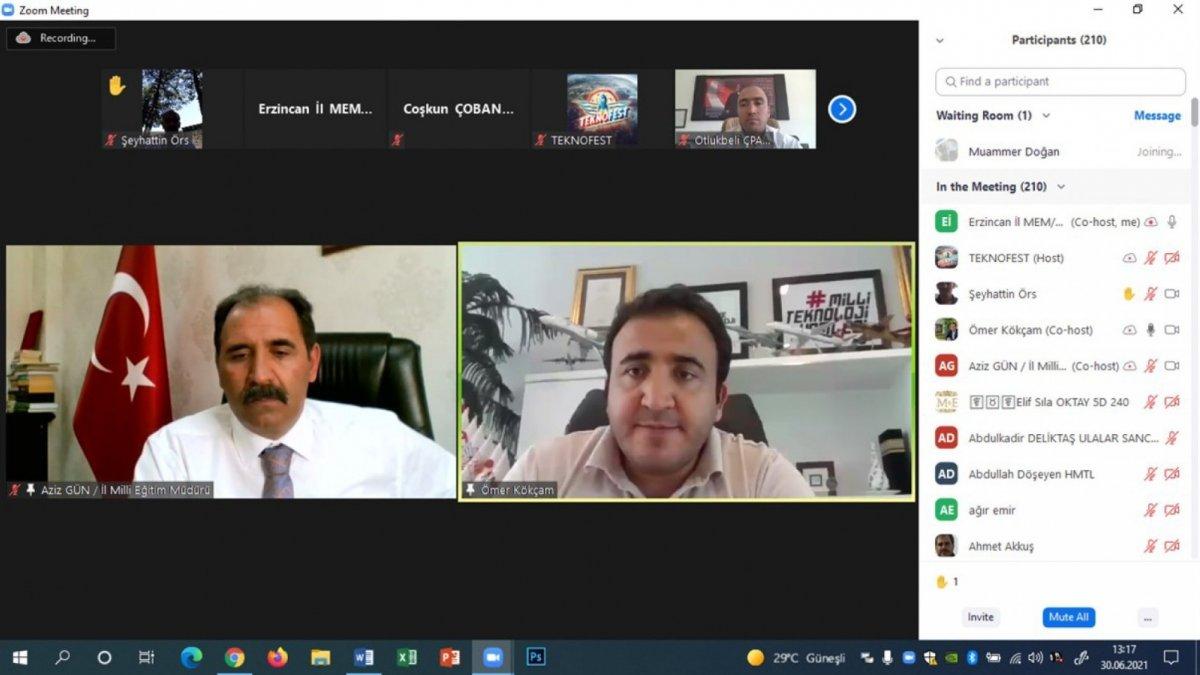 Erzincan'da kurulacak olan 'Deneyap Teknoloji Atölyelerine' ilişkin bilgilendirme toplantısı yapıldı